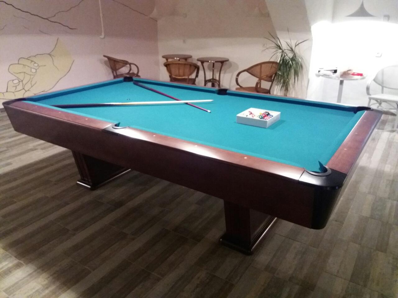 Billiard Table Pionir Divas Club 8ft Cuestore Eu